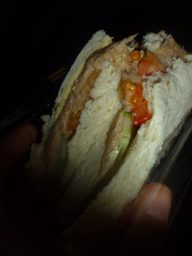 Malaysian Tuna Sandwich
