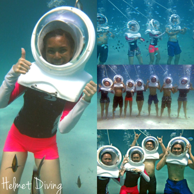 Helmet Diving